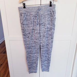 Athleta medium track pants lounge gray sweatpants